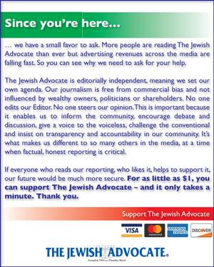 The Jewish Advocate | Boston, Massachusetts News